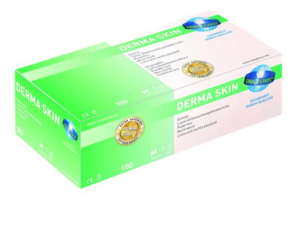 Unigloves Derma Skin, Latex, diverse Größen